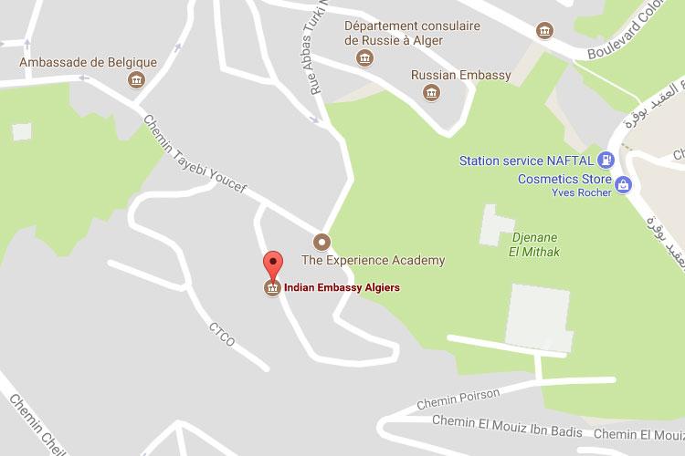 Algeria - Indian Embassy in Algiers
