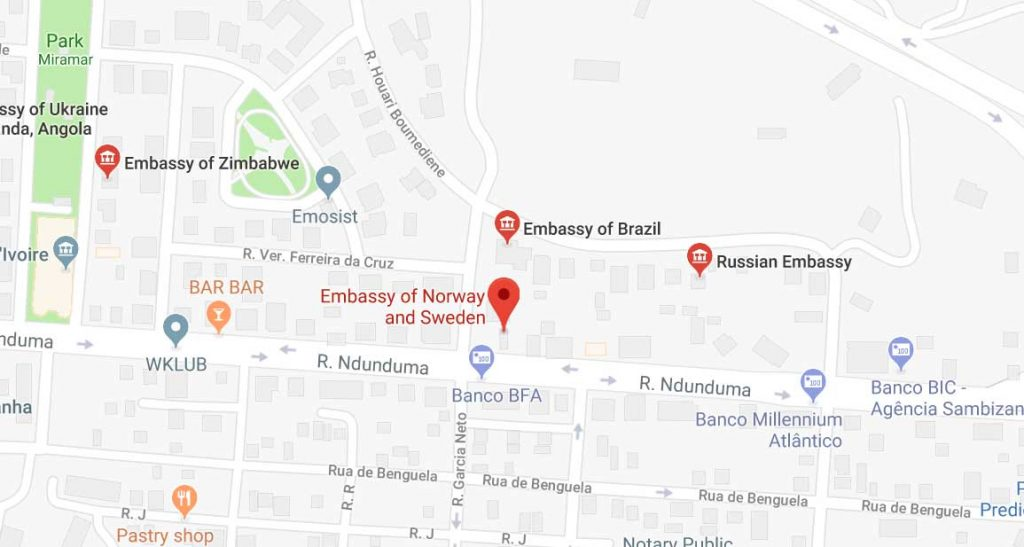 Embassy of Norway in Angola